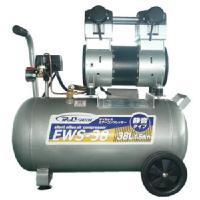 シンセイ 静音オイルレスコンプレッサー30L オイルフリーエアコンプレッサー EWS-30 WBS-30