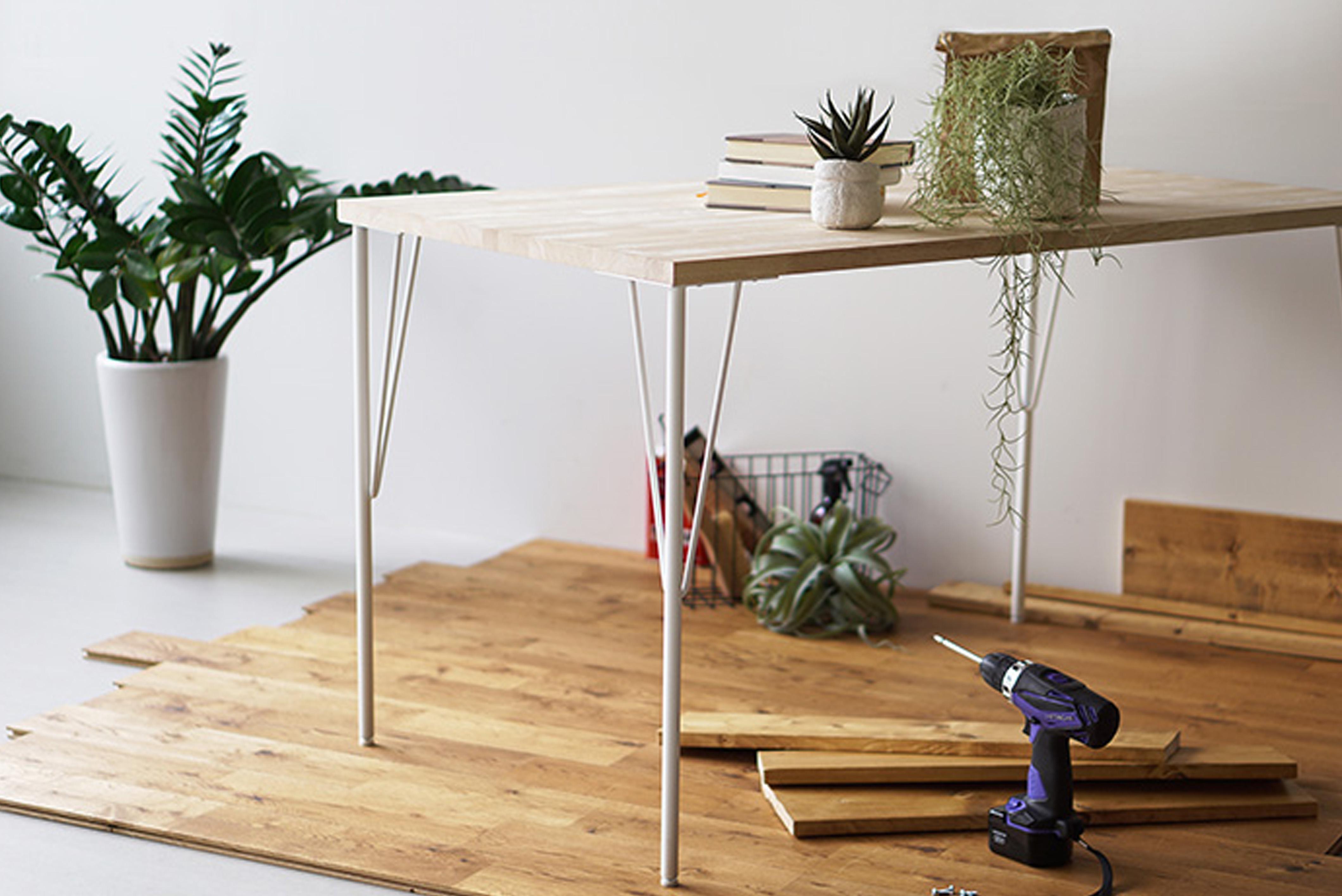 テーブル脚イメージ写真